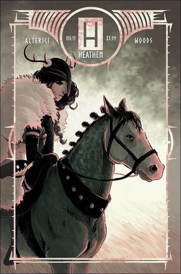 Heathen 11-A by Vault Comics