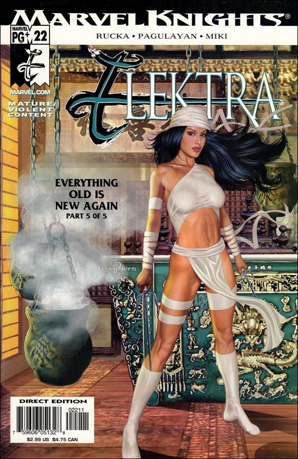 Elektra (2001) 22-A by Marvel