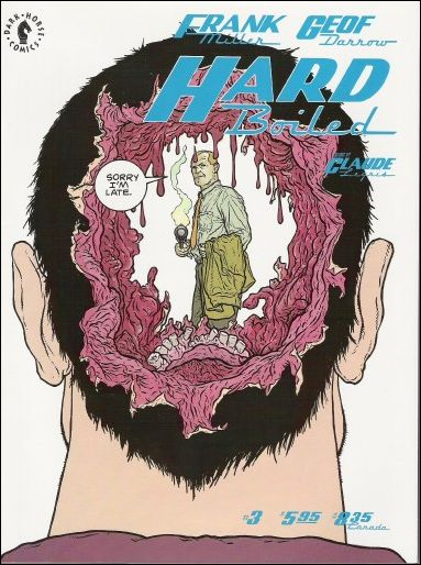 Hard Boiled 3-A by Dark Horse