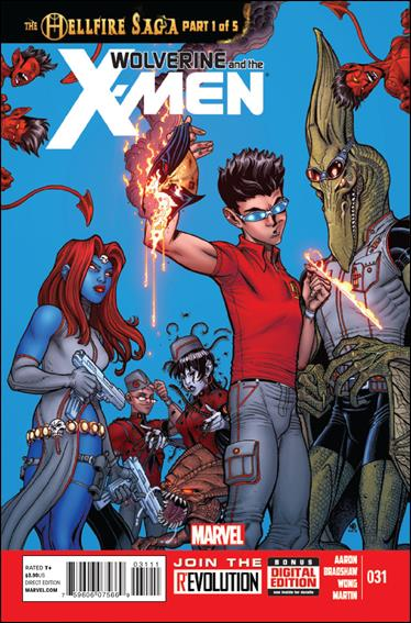Wolverine & the X-Men 31-A by Marvel