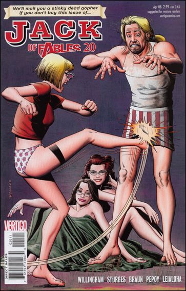 Jack of Fables 20-A by Vertigo