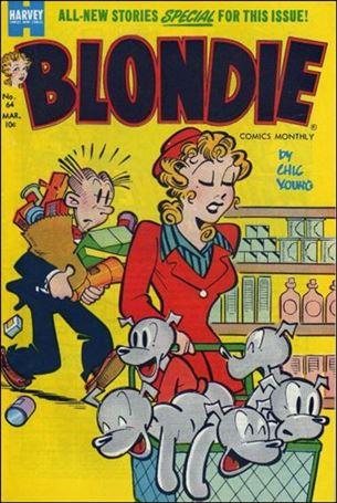 Blondie Comics (1950) 64-A