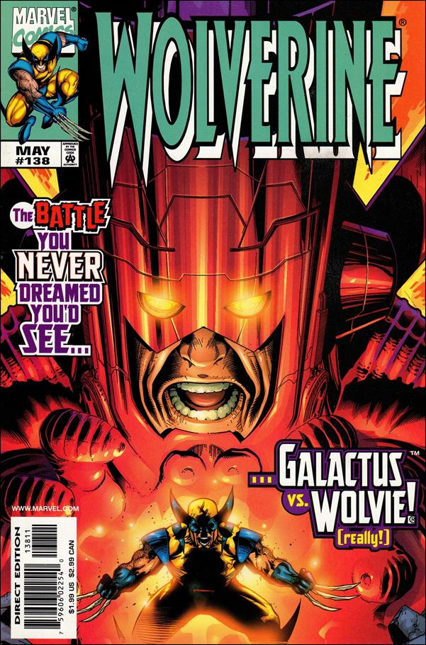 Wolverine (1988)  138-A by Marvel