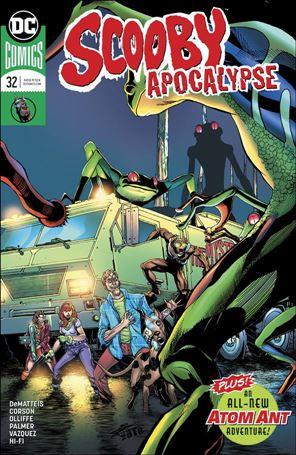 Scooby Apocalypse 32-A