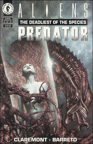 Aliens/Predator: The Deadliest of the Species 6-A by Dark Horse