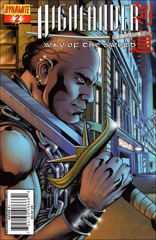 Highlander: Way of the Sword 2-A by Dynamite Entertainment