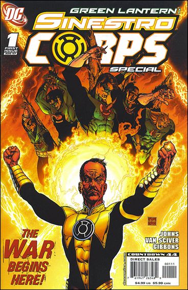 Green Lantern Sinestro Corps Special 1-A by DC