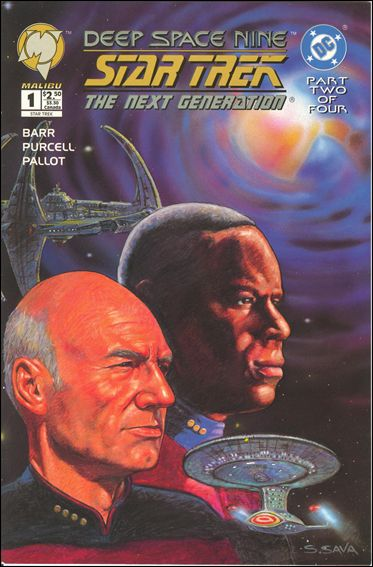 Star Trek: Deep Space Nine/Star Trek: The Next Generation 1-A by Malibu