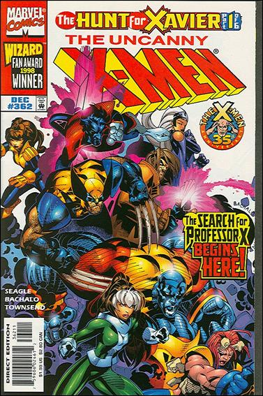 Uncanny X-Men (1981) 362-A by Marvel