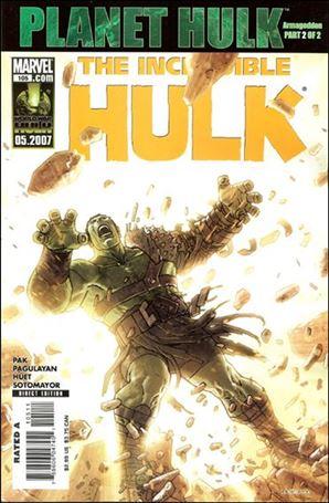 Incredible Hulk (2000)  105-A