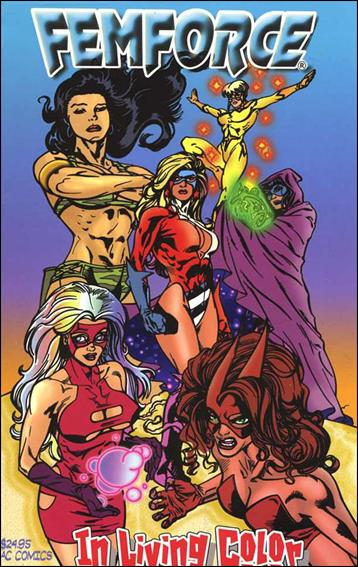 Femforce: In Living Color 1-A by AC