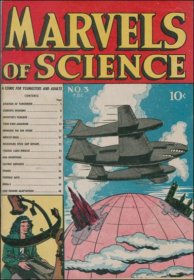Marvels of Science 3-A by Charlton