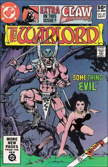 Warlord (1976) 49-A by DC