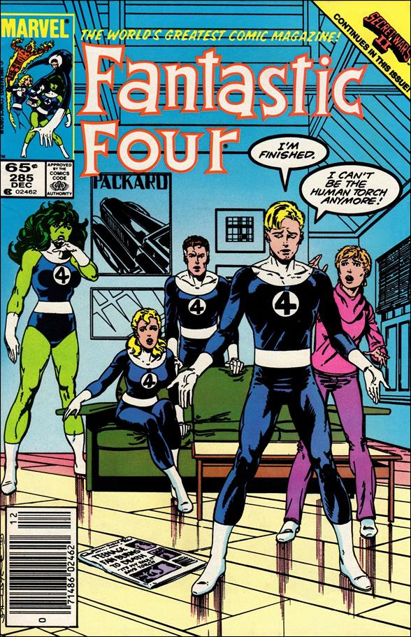 Fantastic Four (1961) 285-A by Marvel