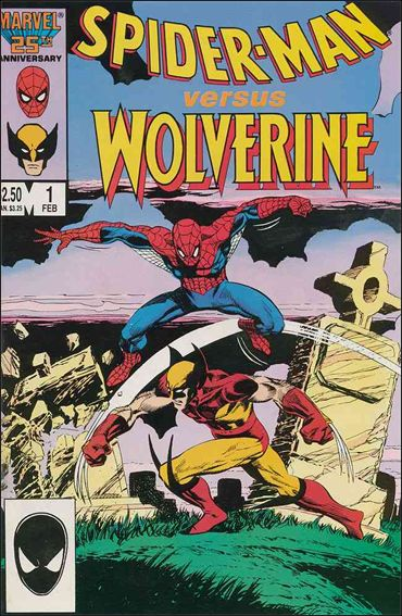 Spider-Man vs Wolverine 1-A by Marvel