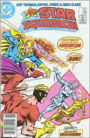 All-Star Squadron 58-A by DC