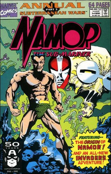 Namor, The Sub-Mariner Annual 1-A by Marvel
