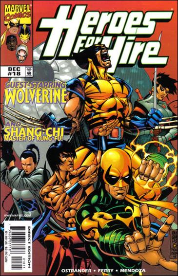 Heroes for Hire (1997) 18-A by Marvel