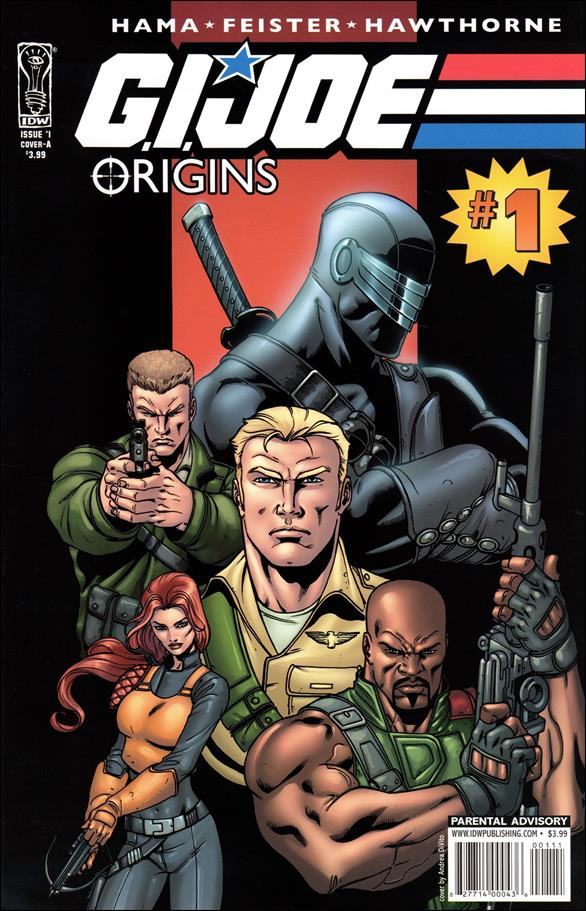 G.I. Joe: Origins 1-A by IDW