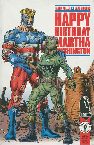 Happy Birthday Martha Washington 1-A by Dark Horse