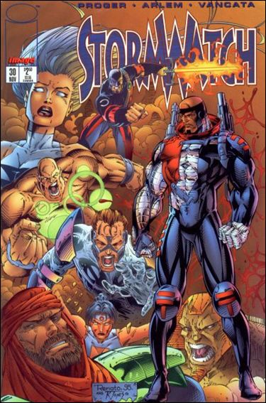 StormWatch (1993) 30-A by Image