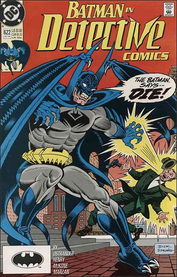 Detective Comics (1937) 622-A by DC