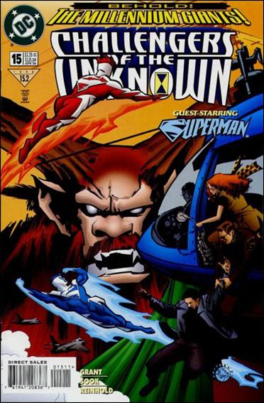 Challengers of the Unknown (1997) 15-A by DC