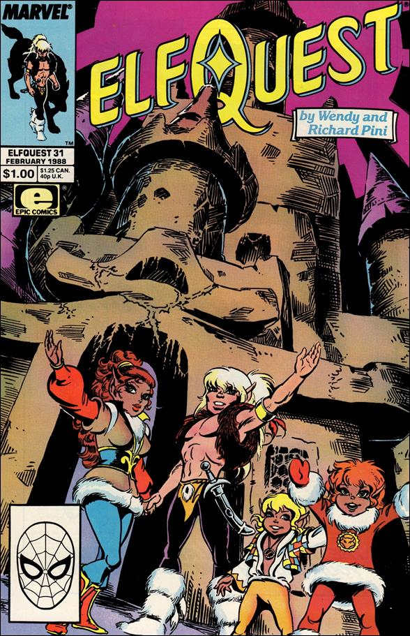 Elfquest (1985) 31-A by Epic
