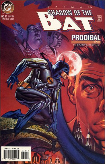 Batman: Shadow of the Bat 32-A by DC