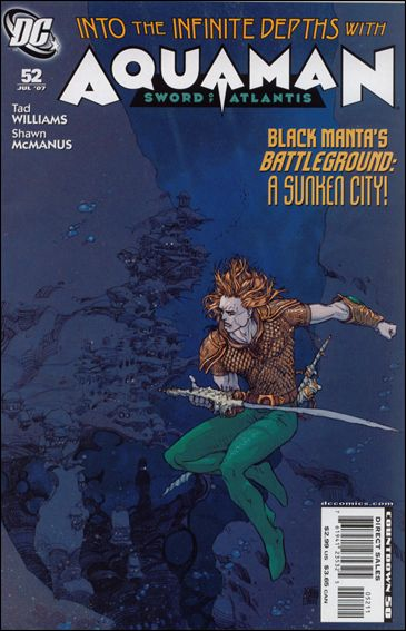 Aquaman: Sword of Atlantis 52-A by DC