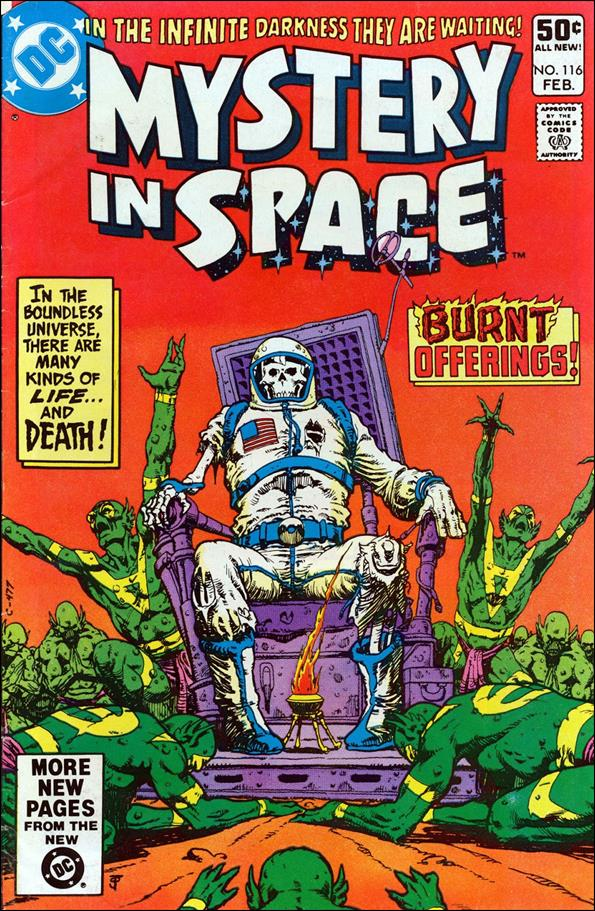 Mystery in Space (1951) 116-A by DC
