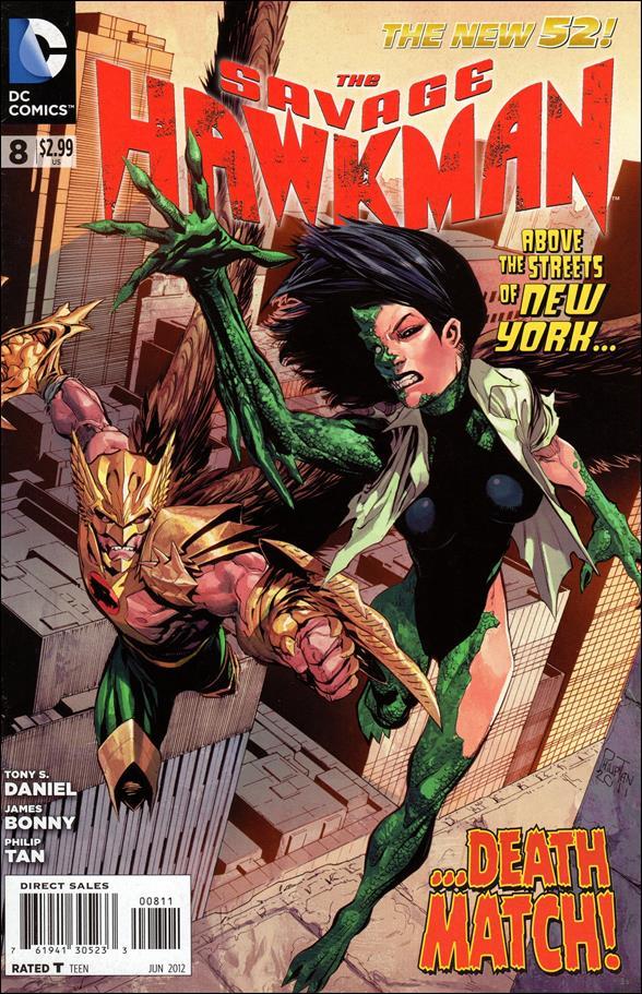 Savage Hawkman 8-A by DC