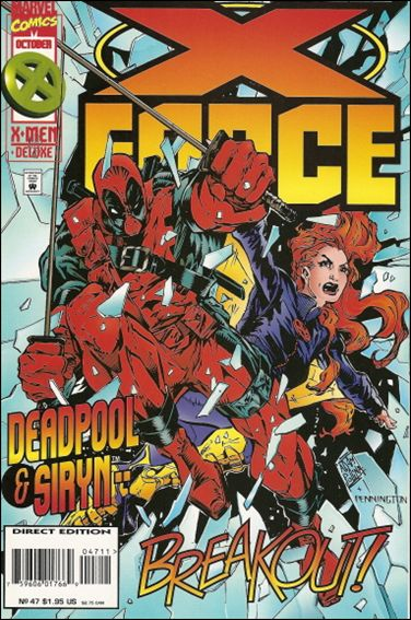 X-Force (1991) 47-A by Marvel