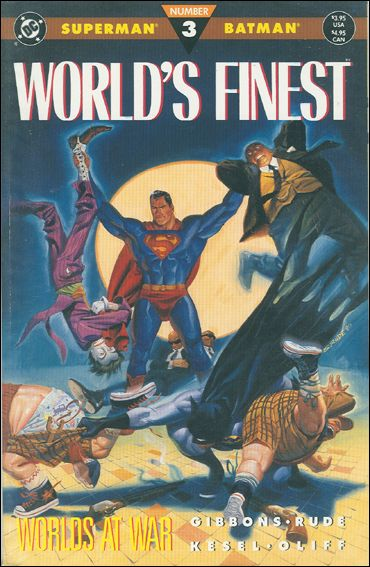 World's Finest (1990) 3-A by DC