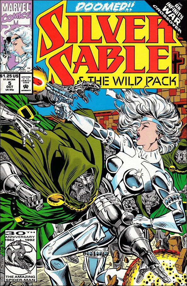 Silver Sable & The Wild Pack 5-A by Marvel