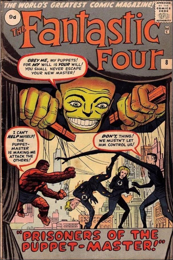 Fantastic Four (1961) 8-B by Marvel