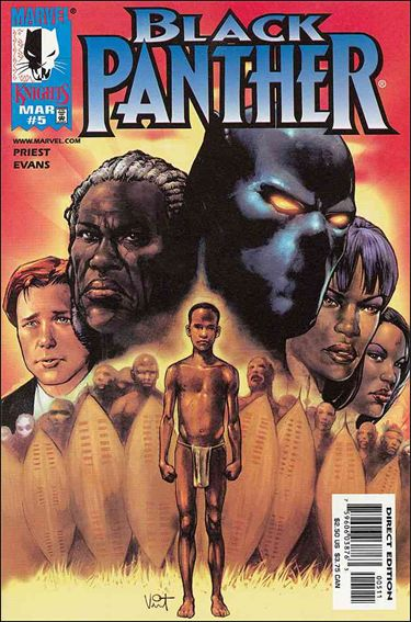 Black Panther (1998) 5-A by Marvel