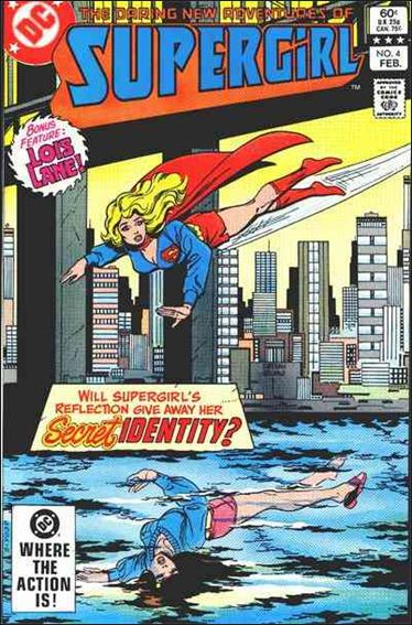 Daring New Adventures of Supergirl 4-A by DC