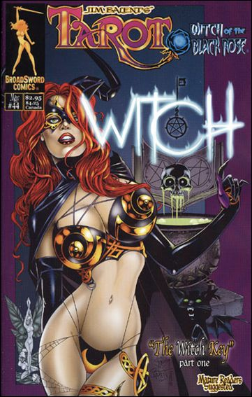 Tarot: Witch of the Black Rose 44-A by BroadSword Comics
