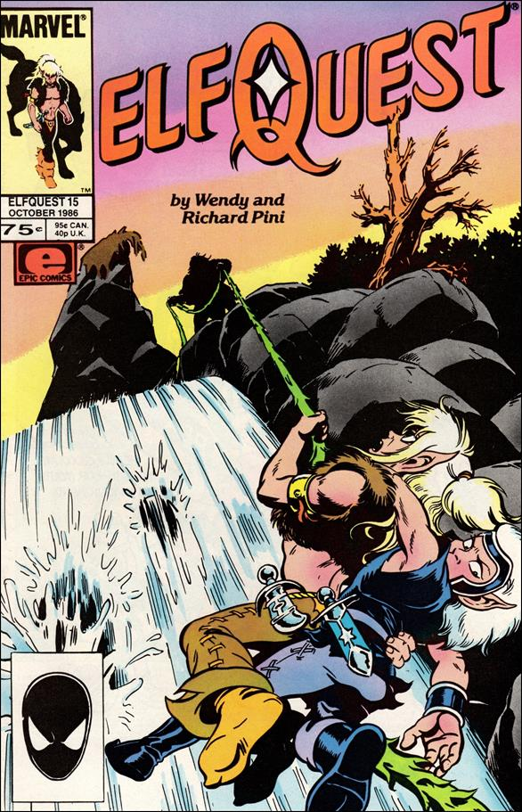 Elfquest (1985) 15-A by Epic