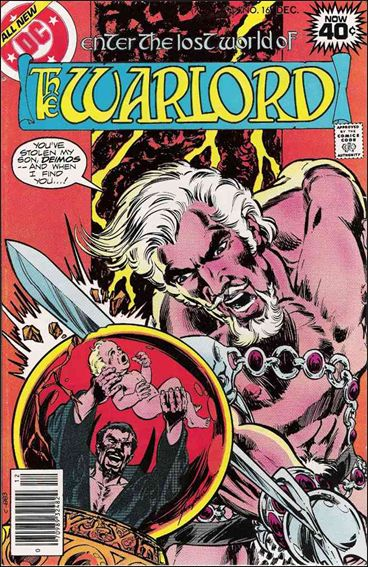 Warlord (1976) 16-A by DC