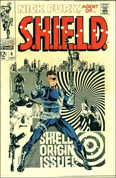 Nick Fury, Agent of S.H.I.E.L.D. (1968) 4-A by Marvel