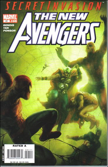 New Avengers (2005) 41-A by Marvel