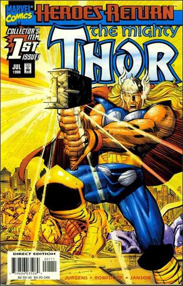 Thor (1998) 1-A by Marvel