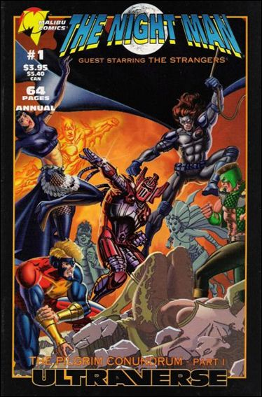 Night Man Annual 1-A by Malibu