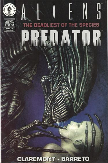 Aliens/Predator: The Deadliest of the Species 8-A by Dark Horse