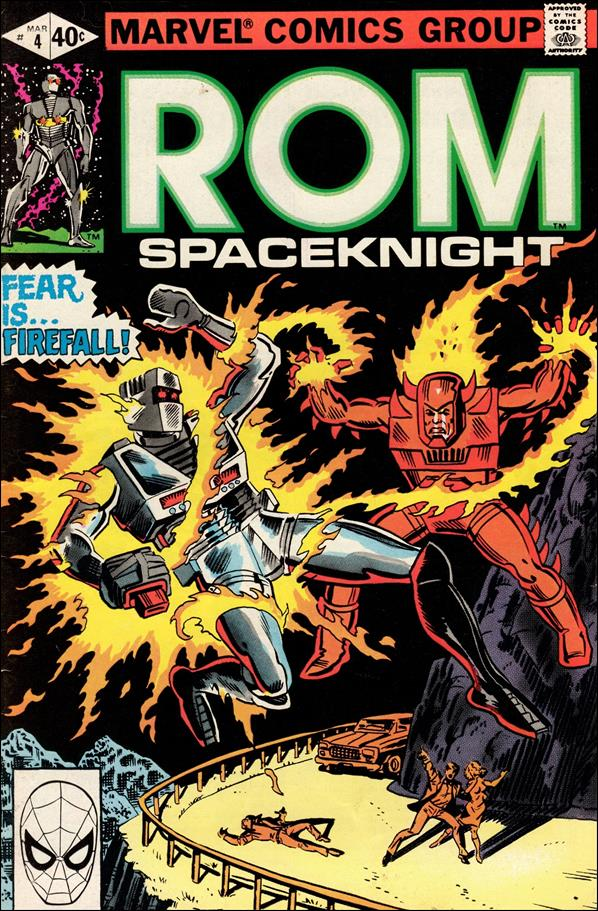 ROM (1979) 4-A by Marvel