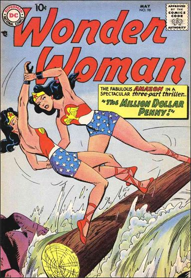 Wonder Woman (1942) 98-A by DC