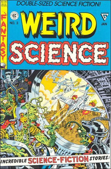 Weird Science (1990) 3-A by Gladstone