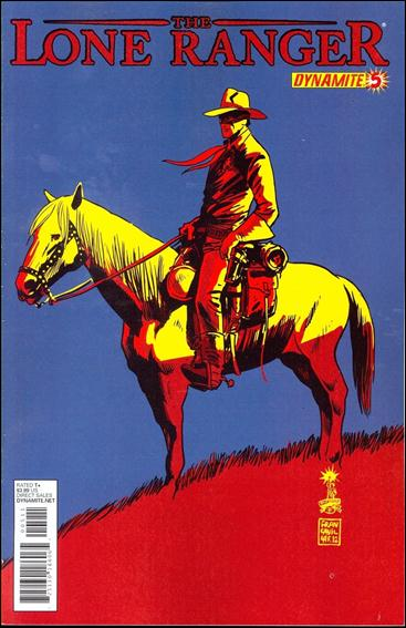 Lone Ranger (2012) 5-A by Dynamite Entertainment